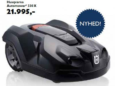 Husqvarna automower 330x tilbud